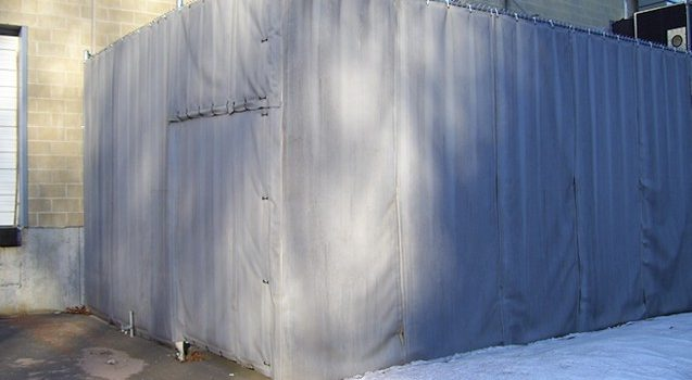 Acoustic Blanket Enclosure for Excessive Generator Noise